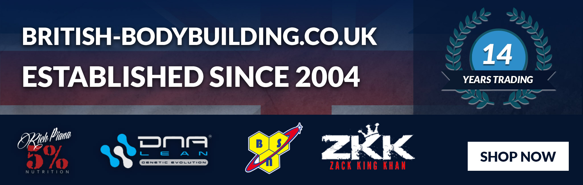 British-Bodybuilding.co.uk - Established since 2004 - 14 Years Trading